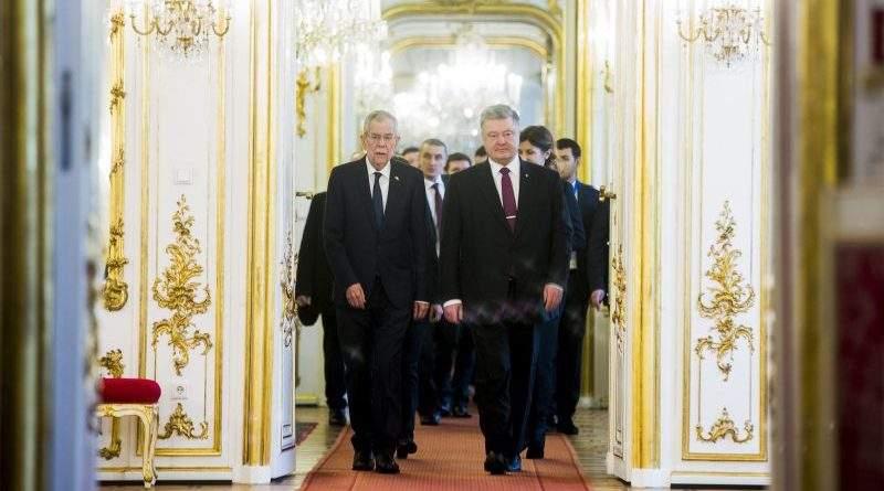 Робочий візит Президента України до Австрії (фото, відео)