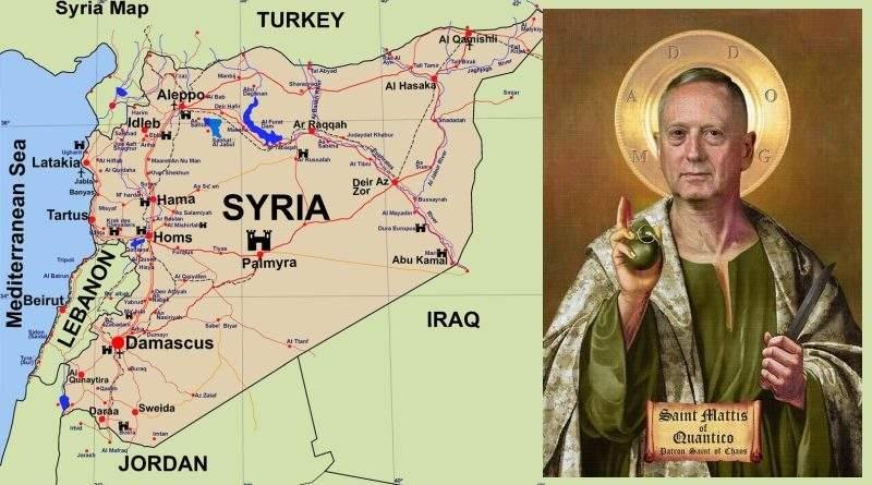 Об уничтожении ЧВК Вагнер и вообще о происходящем в Сирии