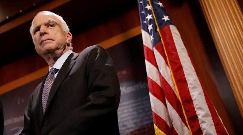 Заявление сенатора Дж.Маккейна в связи с публикацией меморандума с целью очернить расследование Рашагейта