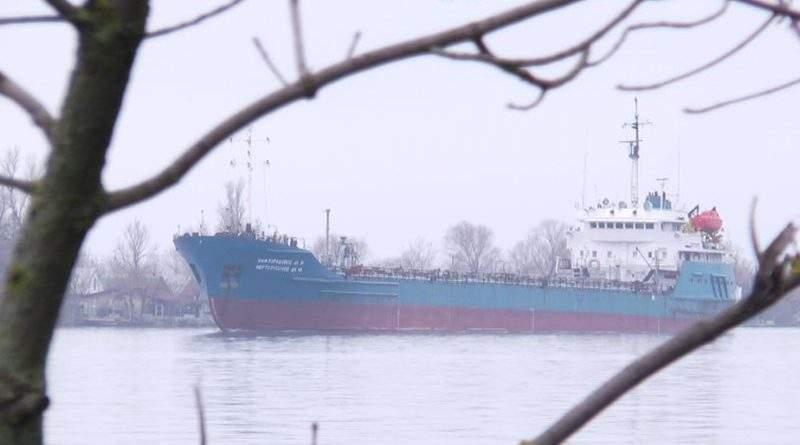 Накладено арешт на судно, яке заходило в закриті порти Криму