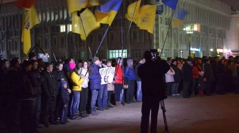 Завершено досудове розслідування щодо незаконного перешкоджання проведенню акцій протесту в м. Суми в 2014 році