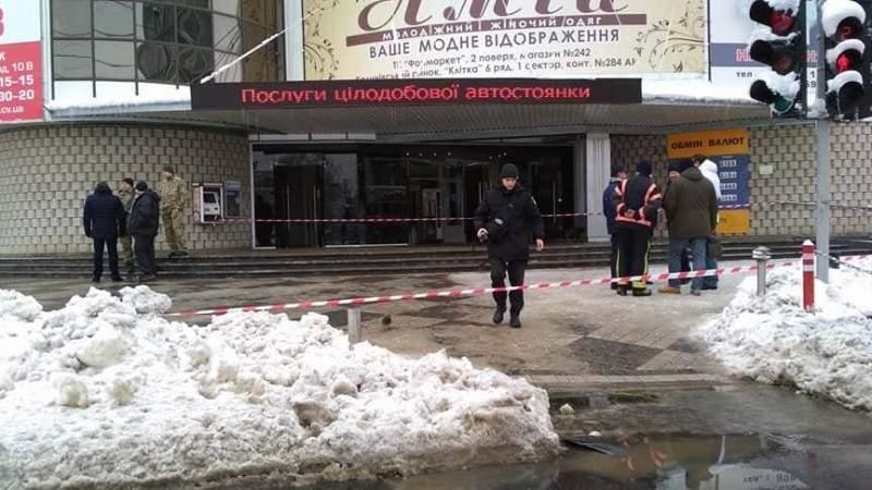 Поліція та СБУ затримали псевдо-мінера торгівельного центру у Чернівцях