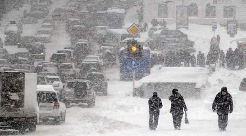 Увага! Попередження про погіршення погодних умов на території України