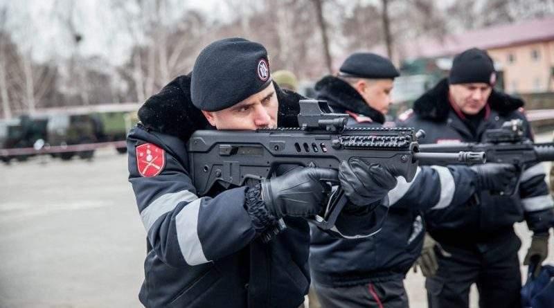 Війська карабінерів продовжують ознайомлення з діяльністю Національної гвардії України (фото)