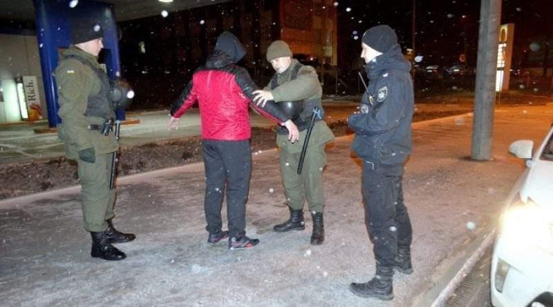 23 та 24 лютого Нацгвардія посилила охорону громадського порядку у Кривому Розі