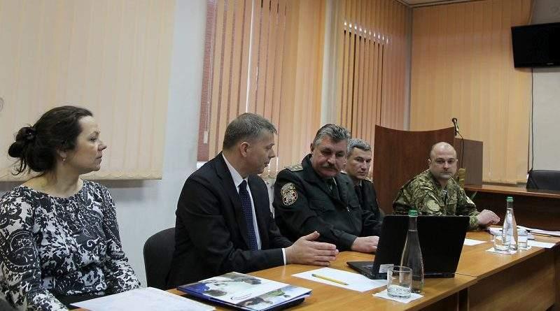 Військово-медичний клінічний центр Західного регіону відвідали представники «International SOS» та ЗС США (фото)