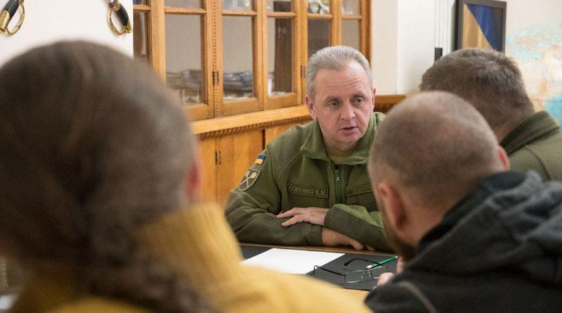 Віктор Муженко зустрівся з представниками Ради резервістів