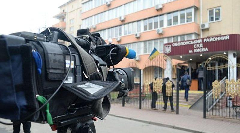 Під час подій в Оболонському суді Києва поліція діяла у суворій відповідності до законодавства (відео)