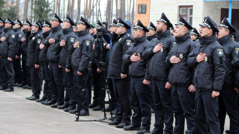 Спасибо сотрудникам полиции за их работу!