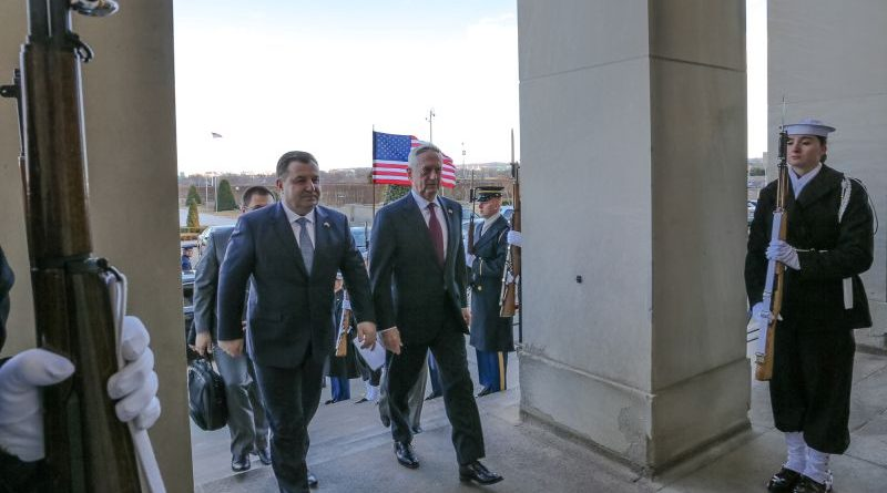 Зустрічі Міністра оборони України Степана Полторака в США (фото, відео, інтерв'ю)