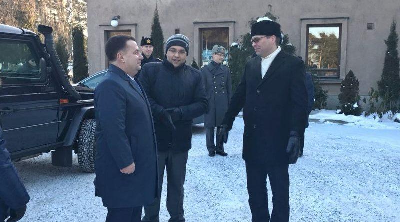 Розпочався візит Міністра оборони України Степана Полторака до Фінляндської Республіки (фото, відео)