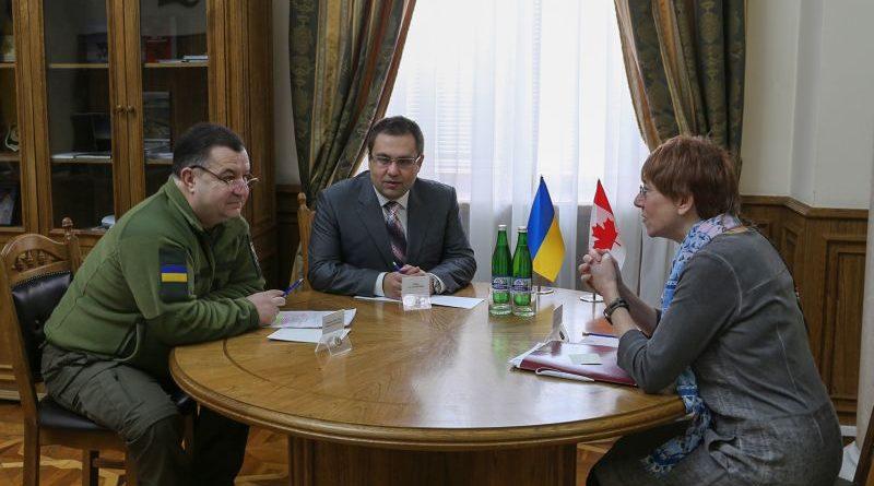 Степан Полторак провів зустріч зі стратегічним радником високого рівня від Канади пані Джил Сінклер (фото)