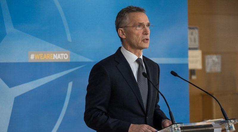 «НАТО підтримує територіальну цілісність України й продовжує співпрацю з Києвом», — Генсек НАТО Єнс Столтенберґ
