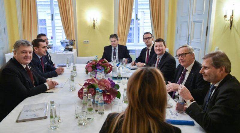 Президент України провів зустріч з Президентом Європейської Комісії