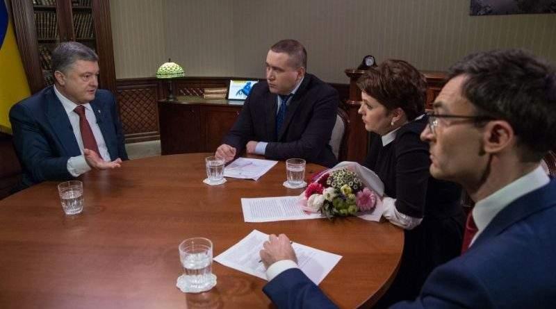 Петро Порошенко дав інтерв'ю українським телеканалам (фото, повне відео)