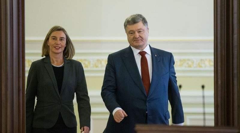 Президент України та Віце-Президент Єврокомісії обговорили деталі розгортання миротворчої місії ООН на Донбасі