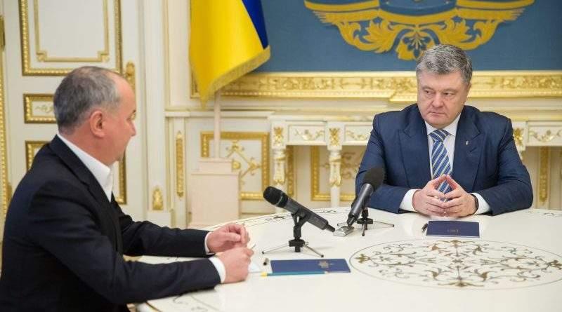 Президент заслухав доповідь Голови СБУ Василя Грицака щодо попередження терактів в Україні