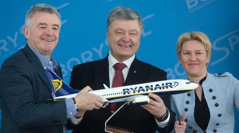 Президент прийняв участь у підписанні контрактів з авіакомпанією Ryanair (фото)