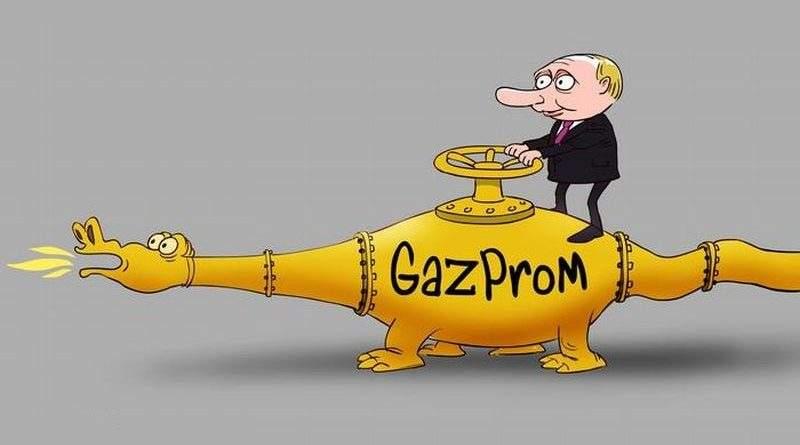 Газ как политическое оружие Кремля