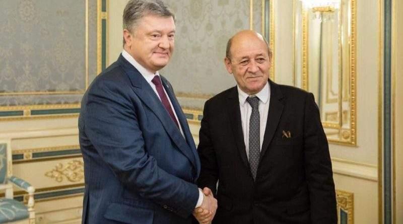 Президент України провів зустріч з Міністром закордонних справ Франції