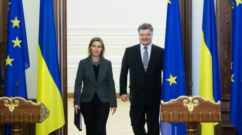 12 березня Президент України Петро Порошенко проведе зустріч з Віце-Президентом Єврокомісії Федерікою Моґеріні