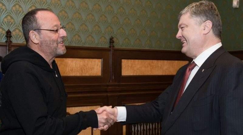 Саме в Україні сьогодні варто знімати кіно – Президент на зустрічі з французьким актором Жаном Рено (фото)