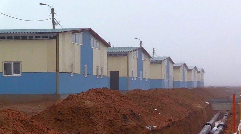 Розбудова табірного містечка на полігоні Широкий лан триває попри негоду та «циклони» в соцмережах (фото, відео)
