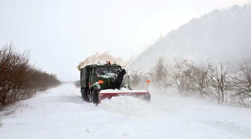 Інформація щодо ускладнення погодних умов в окремих областях України (станом на 19 годину 1 березня) (фото, відео)