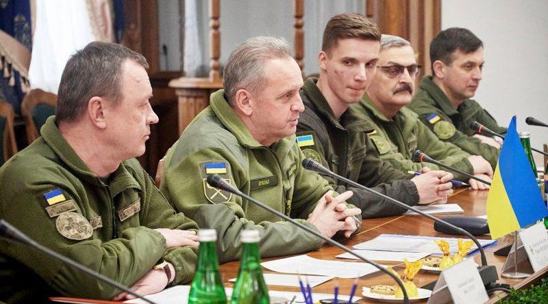 Віктор Муженко обговорив розвиток Сил спеціальних операцій з партнерами по НАТО (фото)
