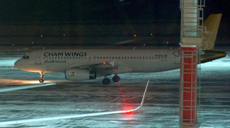 Державівслужба перевірить інформацію щодо перевезення російських найманців до Сирії авіакомпанією Cham Wings