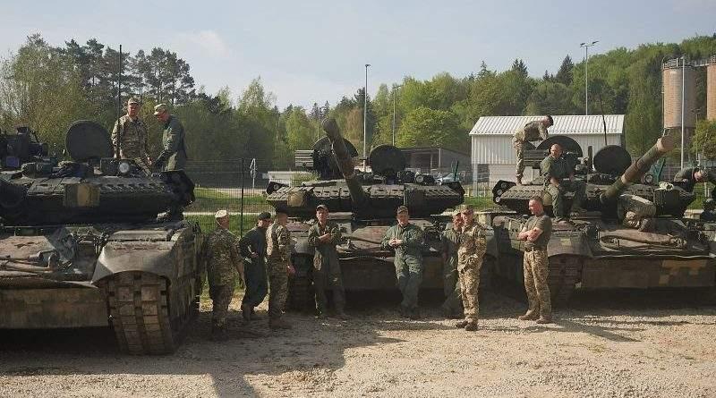 Тримаймо кулаки за українських танкістів!