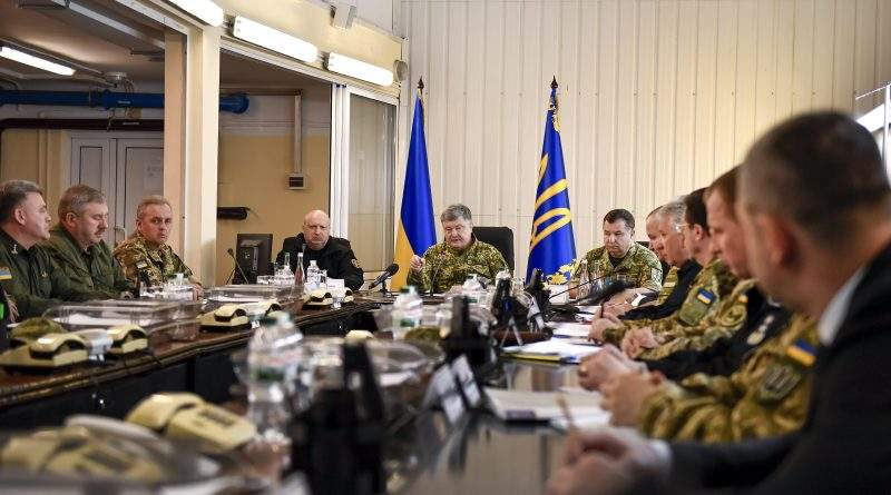30 квітня 2018 року розпочалась операція Об'єднаних сил на Донбасі – Президент підписав Указ (фото, повне відео)