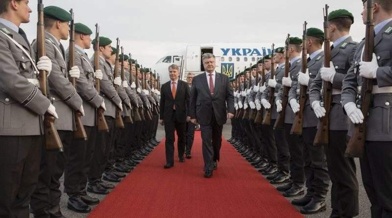 Президент України розпочав візит до ФРН