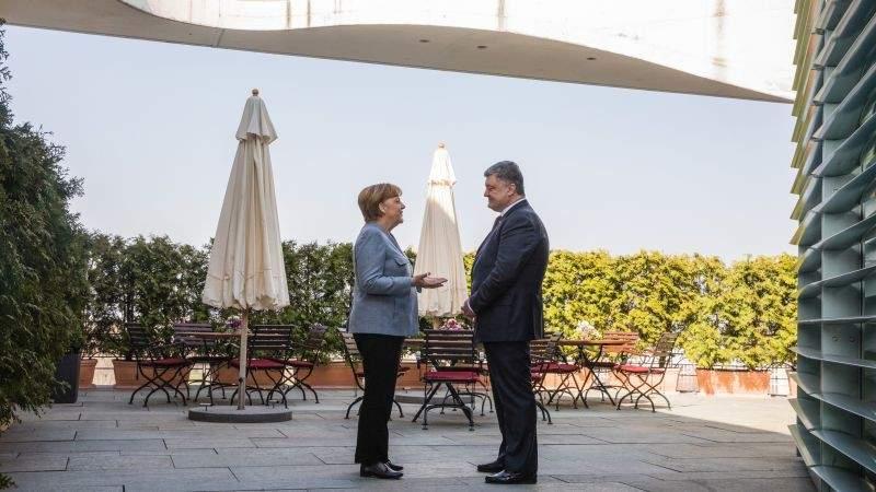 Несколько заявлений Меркель на встрече с Порошенко