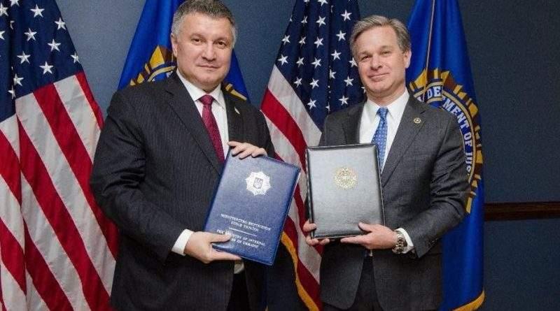 Арсен Аваков підписав Меморандум про взаємне співробітництво з ФБР (відео)