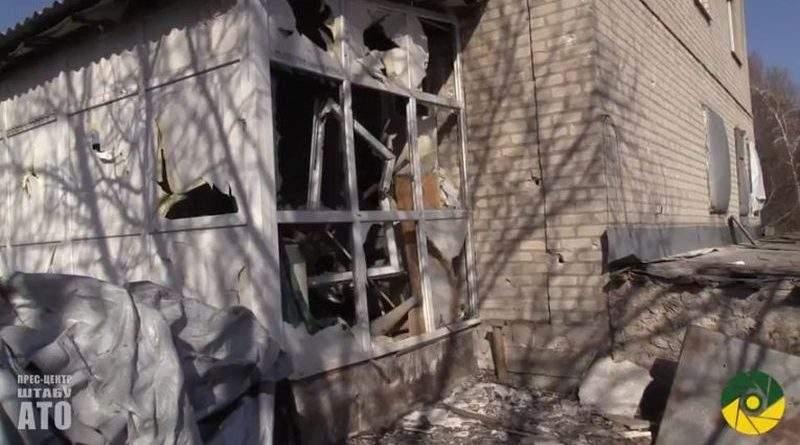 В ніч на 11 квітня бойовики російсько-окупаційних військ обстріляли «стару» Авдіївку (відео)