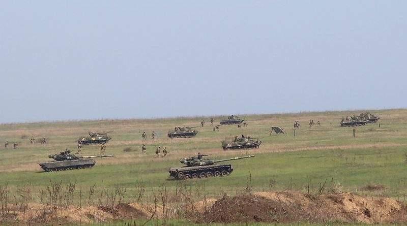 На одному із полігонів на півдні України відбулись найбільші з початку року тактико-спеціальні навчання (фото)