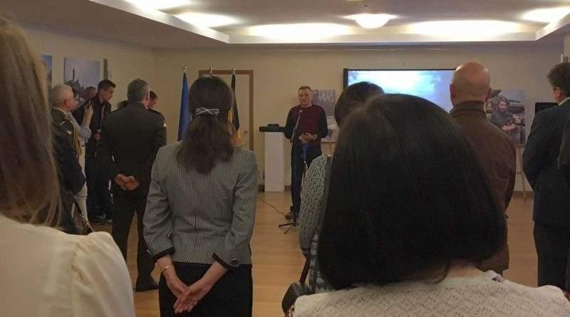 Українська громада у Брюсселі нагородила поранених військовослужбовців АТО (фото)