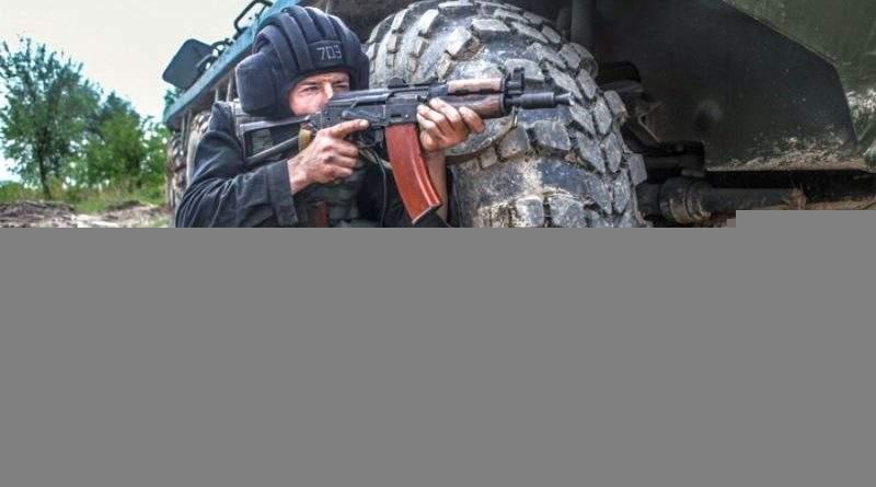 На Івано-Франківщині тренувались екіпажі БТР (фото)