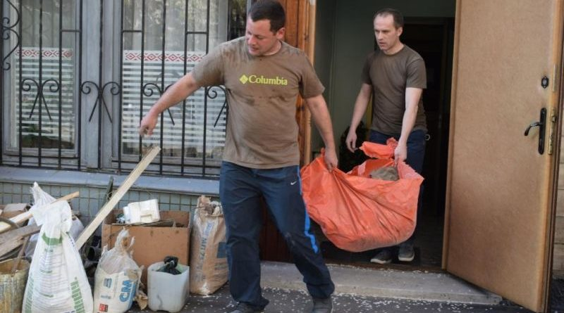 ЗС України взяли участь у щорічній всеукраїнській акції «За чисте довкілля» (фото)
