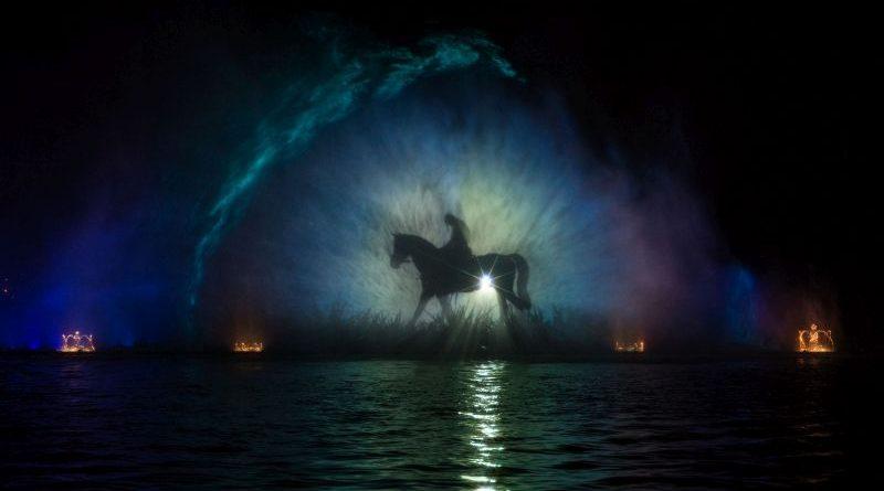 21 квітня найбільший у Європі фонтан Roshen розпочав сезон роботи програмою «Віримо в Україну!» (фото)