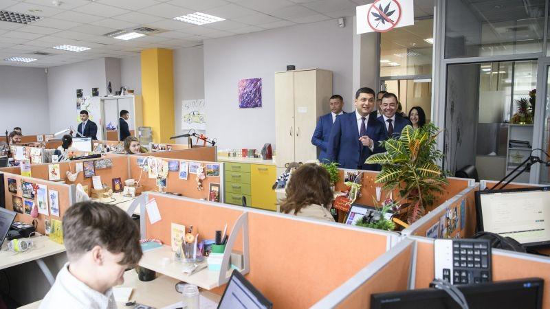 Володимир Гройсман зустрівся з працівниками найбільших ІТ-компаній України (фото)