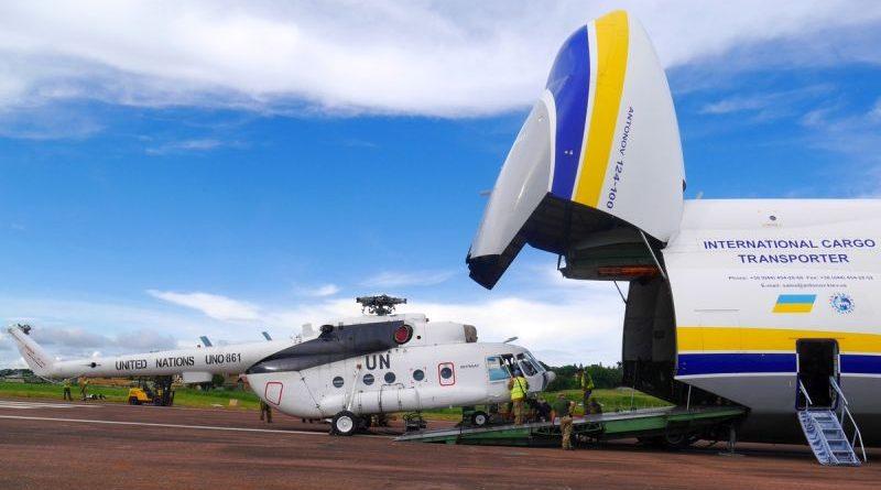 Миротворча місія ООН зі стабілізації в ДР: відбулась планова заміна вертольотів Мі-8 (фото)