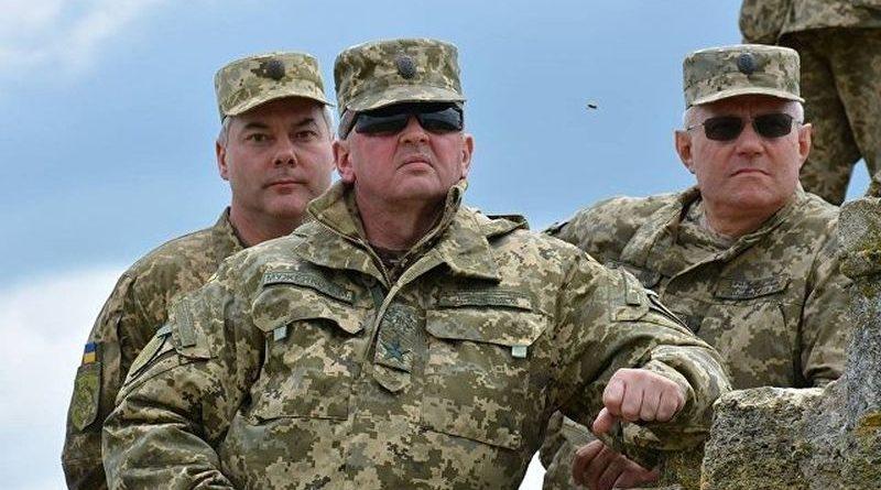 Інтерв'ю Начальника Генерального штабу ЗСУ Віктора Муженка Укрінформу (фото)