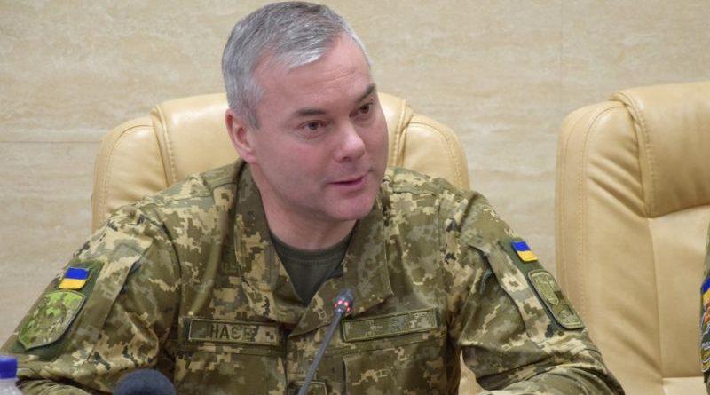 Інтерв'ю командувача Об'єднаних сил генерал-лейтенанта Сергія Наєва газеті Факти