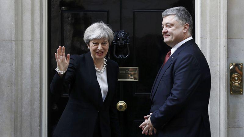 Президент України провів телефонну розмову з Прем'єр-міністром Великої Британії