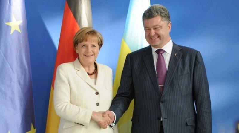 10 квітня 2018 року на запрошення Ангели Меркель Президент України Петро Порошенко відвідає з візитом Німеччину