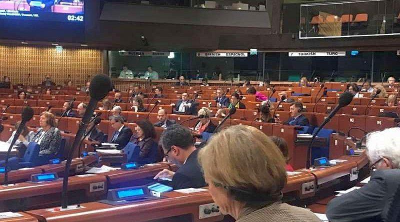 Українські парламентарії під час сесії ПАРЄ у Страсбурзі взяли участь у дебатах (фото)