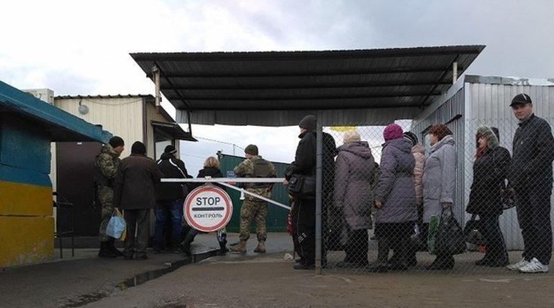 У березні лінію розмежування на сході України перетнуло 1 016 800 осіб