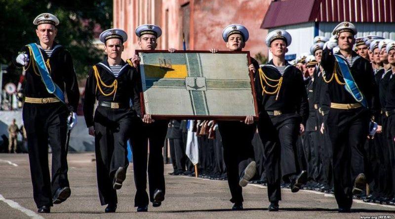 До України повернули військово-морський прапор УНР